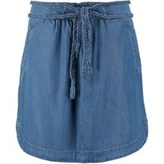 edc by Esprit Spódnica jeansowa medium blue