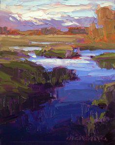 "David  Mensing - ""Earthful"" #art #landscape #santafe"
