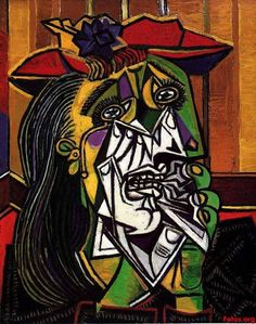 la-femme-qui-pleure dora maar, 1937  // pablo picasso