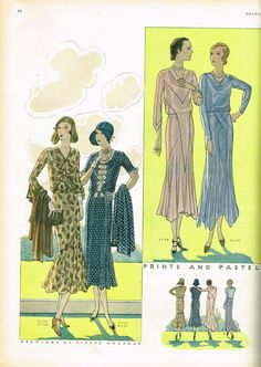 1930s Butterick Delineator Magazine Hard Bound Ex-Library Jan 1930 to Dec 1930 in Books, Magazine Back Issues   eBay