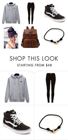 """Untitled #33"" by littlenerdrosey17 ❤ liked on Polyvore featuring River Island, Vans and Cartier"