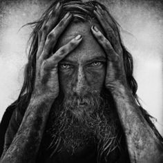 Portrait by Lee Jeffries - the amazing Lee Jeffries, who has made it his mission to show the humanity of homeless people and others that we so often walk by without seeing.