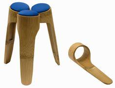 banco tripé - tripé stool