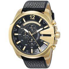 Diesel Men's DZ4344 'Mega Chief' Chronograph Watch