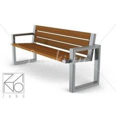 Raw Furniture, Welded Furniture, Garage Furniture, Industrial Design Furniture, Furniture Design, Outdoor Furniture, Metal And Wood Bench, Teak Garden Bench, Diy Chair