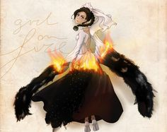 Girl on fire - Song of the rebellion by An-Haruno-Girl.deviantart.com