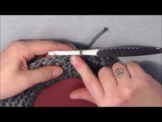Πλεκουμε Τσαντα - Πλεξη Σταυρωτο Μακρυ ποδαρακι (GR) - YouTube Crochet Accessories, Handicraft, Lana, Purses And Bags, Knit Crochet, Crochet Patterns, Stitch, Knitting, Crochet Pouch