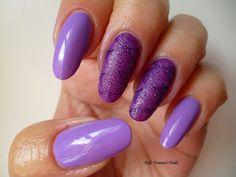 Fife Fantasi Nails : Purple nail design