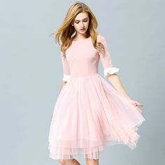 Cheap Dresses on Sale at Bargain Price, Buy Quality Dresses from China Dresses Suppliers at Aliexpress.com:1,skirt pattern:big bottom type 2,Silhouette:Pleated 3,Combination form:separate 4,Brand Name:vantagemax 5,component content:96% and above