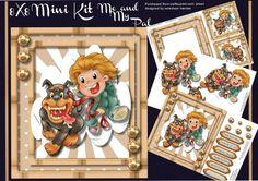 8x8 Mini Kit Me and My Pal  on Craftsuprint - Add To Basket!