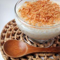 Creme de tapioca com coco