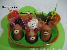 Goldilocks and the three bears!