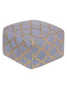 Cecily Pouf by Surya at Gilt