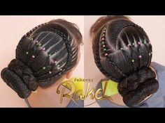 Creative Hairstyles, Updos, Thick Hairstyles, Natural Kids, Dreadlocks, Hair Styles, Beauty, Youtube, Plaits Hairstyles