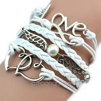 I think you'll like Fashion Womens Leather Multilayer Cute Infinity Love Heart Wings Charms Bracelet. Add it to your wishlist!  http://www.wish.com/c/5451dc589719cd3949e0174d