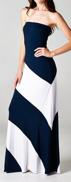Diagonal stripes maxi // so flattering