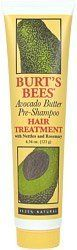 Burts Bees Hair Care Avocado Butter Hair Treatment 4 oz tube Pack of 5 ** Be sure to check out this awesome product affiliate link Amazon.com