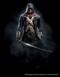 ArtStation - Assassin's Creed Unity - Arno, Anthony Guebels