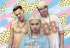 Illustrator Maya Wild draws the coolest kind of pop fan art with serious party vibes