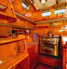 Peterson-44-Sailboat-Teak-Interior-Kitchen-area-Marina-Del-Rey-CA.jpg 729×750 pixels