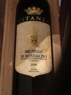 Brunello Di Montalcino, Vitanza