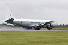 https://flic.kr/p/qXaQeL | Boeing RC-135 | The Boeing RC-135 is a family of large reconnaissance aircraft built by Boeing and used by the United States Air Force to support theater and national level intelligence consumers with near real-time on-scene collection, analysis and dissemination capabilities. Based on the C-135 Stratolifter airframe, various types of RC-135s have been in service since 1961. The United Kingdom is buying three KC-135R aircraft for conversion to RC-135W Rivet Joint…