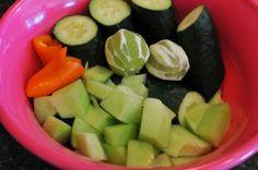 A Tabletop Garden + {Cucumber Melon Juice} | Nosh and Nourish