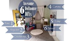 Image result for how to make dollhouse curtains