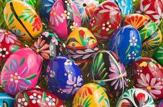 Ukranian Pysanky Easter Eggs by GourmetGiftBaskets.
