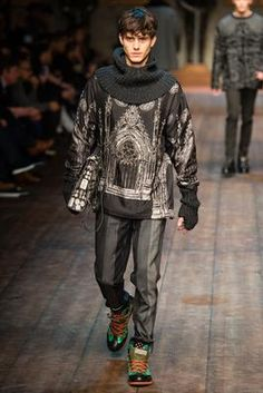Dolce & Gabbana Fall 2014 Menswear Fashion Show: Complete Collection - Style.com