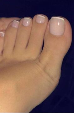 French nails on toes french nails - # french # nails . - French nails on toes French nails – # Nails # Toes You are in the right place - Pretty Toe Nails, Cute Toe Nails, Pretty Toes, My Nails, Gel Toe Nails, Gel Toes, Toe Nail Polish, Beautiful Toes, Cute Toes