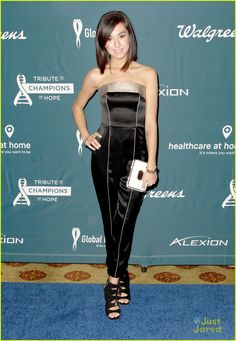Christina Grimmie Performs Surprise Solo At RARE Tribute To Champions Of Hope Gala 2015 | christina grimmie cimorelli lindsay shaw global genes 01 - Photo