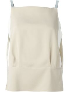 Shop Giorgio Armani spaghetti strap square neck top in Eraldo from the world's best independent boutiques at farfetch.com. Over 1500 brands from 300 boutiques in one website.