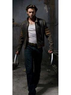 Image result for x-men wolverine origins logan biker leather jacket