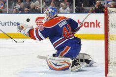 Colorado Avalanche vs. Edmonton Oilers - Photos - January 28, 2013 - ESPN THIRD STAR: #40 Devan Dubnyk, Oilers