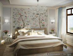 Варианты оформления спальни, дизайн интерьера спальни