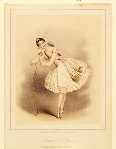 All sorts of ballet pictures here. ballerina Maria Taglioni, known for dancing on point and in La sulphide. Art Ballet, Ballet Dancers, Ballerinas, Vintage Pictures, Vintage Images, Ballet Vintage, Vintage Prints, Vintage Art, Ballerine Vintage