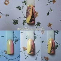 Nail Tutorials, Art Lessons, My Nails, Nail Art, Design, Tutorial Nails, Beauty Nails, Almond, Shape
