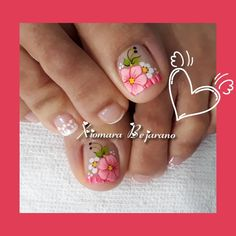 Feet Nails, Toe Nail Art, Pedicures, Diana, Iphone, Work Nails, Enamel, Molde, Toenails Painted