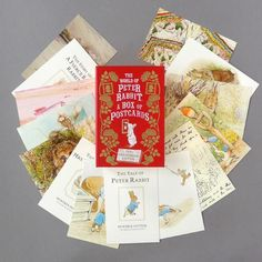 100 reproductions of the cover art and the world famous illustrations from all the books that Beatrix Potter set on Peter's world. Not only that - pages from