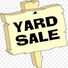 The only difference between a yard sale and a garbage pickup is how close to the curb the stuff is.