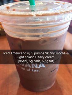 We can still order yummy Starbucks drinks! We can still order yummy Starbucks drinks! We can still order yummy Starbucks drinks! We can still order yummy Starbucks drinks! Comida Do Starbucks, Bebidas Do Starbucks, Starbucks Secret Menu Drinks, Low Calorie Starbucks Drinks, Starbucks Coffee, Low Cal Starbucks, Coffee Coffee, Starbucks Hacks, Healthy Starbucks Food