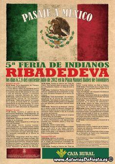 El vecino municipio de #Rivadedeba, celebra un año mas la #Feria del #indiano.