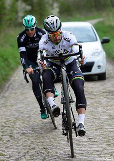 Peter Sagan recon Parijs-Roubaix @bettiniphoto