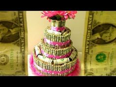 ▶ How To Make A DOLLAR BILL CAKE - YouTube