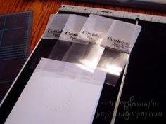 Indigo Inklings: modifying small Cuttlebug folders