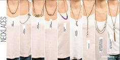 Lenny and Eva Necklaces Style Guide