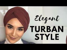 Easy Turban Styles For Everyday Life (Hijab) Turban Hijab, Turban Outfit, Mode Turban, Head Turban, Turban Tutorial, Hijab Tutorial, Easy Hijab Style, Head Scarf Styles, Hijab Fashionista