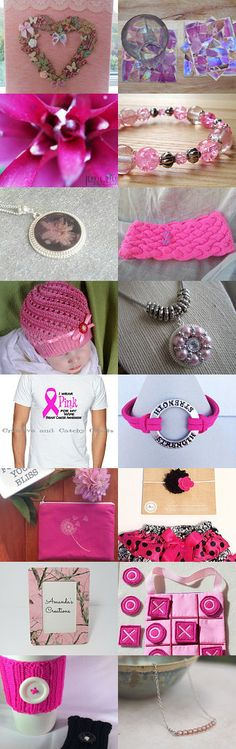 <3 Pink Ladies <3 by Krista Davis on Etsy--Pinned+with+TreasuryPin.com