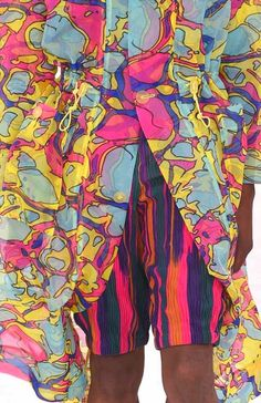 patternprints journal it: STAMPE, PATTERNS E DETTAGLI DALLA RECENTE SETTIMANA DELLA MODA DI PARIGI (MODA UOMO PRIMAVERA/ESTATE 2015) / Issey Miyake.